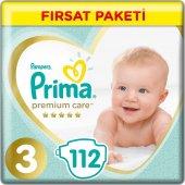 Prima Premium Care Fırsat Paketi Midi 112 Adet 3 Numara