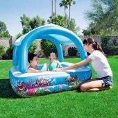 Bestway Tenteli Şişme Çocuk Havuzu 52192 1.47mx1.4...