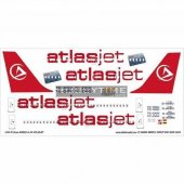 Dat01041 1 144 Atlasjet A 319 Dekal Çıkartma