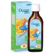 Ocean Multi Vitamin Mineral Balık Yağı 150 Ml. Ballı Portakallı