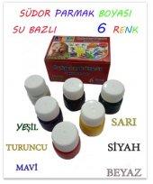 Südor Su Bazlı 6 Renk Parmak Boyası