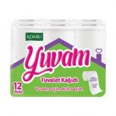 Komili Yuvam Tuvalet Kağıdı 180 Yapraklı 12 Rulo