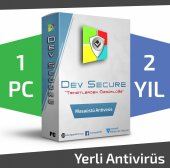 Dev Secure 1pc, 2yıl Masaüstü Yerli Antivirüs