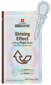 Leaders Stepsolution Shining Effect Lifting Pearl Mask