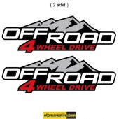Off Road 4wd Sticker