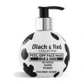 Black & Red Yüz Maskesi Milk