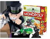 Monopoly Junıor Kutu Oyunu A6987