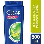 Clear Erkek Şampuan Yağlı Saç Derisi İçin Maksımum...