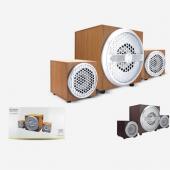 Hadron Hd6046 6 Ahşap Speaker 2.1 Anfi