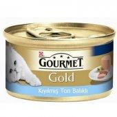 Purina Gourmet Gold Kıyılmış Ton Balıklı Konserve Yaş Kedi Maması 85 Gr