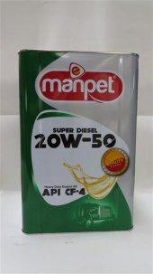 Manpet Super 20w 50 Cf 4 9 Lt Benzinli Dizel Motor Yağı