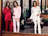 Miss Charmen 3090 Hamile Lohusa 3lü Pijama Takımı