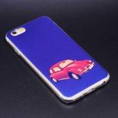 Apple İphone 8 Kılıf Lopard Fani Silikon Kapak