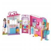 Barbie Veteriner Merkezi Fbr36 Mattel Orjinal