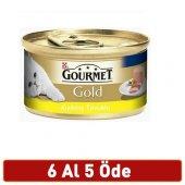 Gourmet Gold Tavuklu Yetişkin Kıyılmış Kedi Konservesi 85gr 6 Al