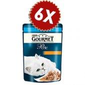 Gourmet Perle Izgara Ton Balıklı Yaş Kedi Maması 85 Gr 6 Al 5 Öde