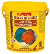 Sera Discus Granulat Balık Yemi 250 Gram Kovadan Bölme