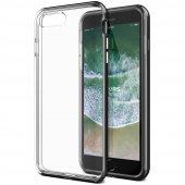 Vrs Design İphone 8 Plus 7 Plus New Crystal Bumper Kılıf Metallic Black