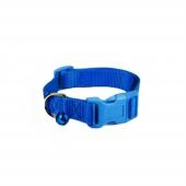 Dokuma Kedi Köpek Tasması Min 20 Max 30 Cm Mavi