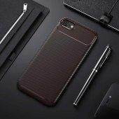 Edelfalke Apple İphone 6 Negro Silikon Kılıf Kahverengi