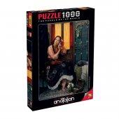 Anatolian 1000 Parça Puzzle Kızıl Kadın 1072