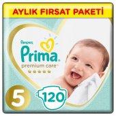 Prima Premium Care 5 Bebek Bezi Aylık Fırsat Paketi 120 Adet