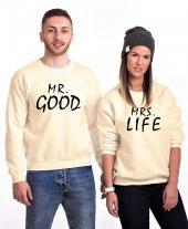 Tshirthane Good Life Sevgili Kombinleri Sweatshirt