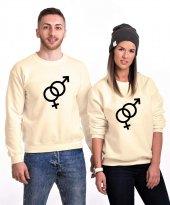 Tshirthane Female Male Sevgili Kombinleri Sweatshirt