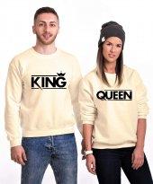 Tshirthane King Queen Sevgili Kombinleri Sweatshirt