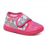 Sanbe 26 30 Cırtlı Panduf Kız Ayakkabı Fuşya