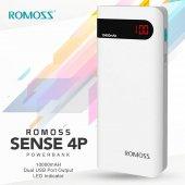 10000 Mah Powerbank Romoss Sense 4p Led Ekranlı Şarj