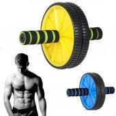 Fitness Karın Kası Sixpack Egzersiz Tekeri Spor Aleti Ab Wheel