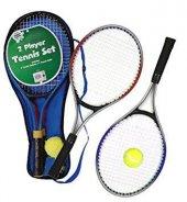 Kıdemli Çocuk Tenis Raket Seti 2 Raket 1top Seti