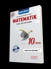 Limit Yayınları 10.sınıf Matematik Konu Bitirme Kitabı