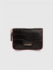 Guard Leather Unisex Hakiki Deri Kartlık Siyah