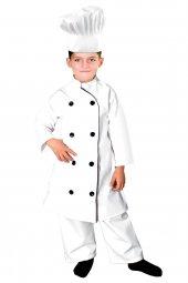 Aşçı Kostümü Çocuk Kıyafeti