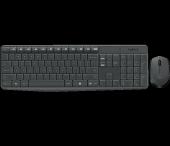 Logıtech Mk235 Q Usb Siyah Tr Multımedya Klavye Mouse Set 920 007925