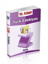Zirve 10. Sınıf Türk Edebiyatı Konu Anlatımlı