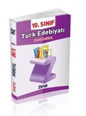 Zirve 10. Sınıf Türk Edebiyatı Soru Bankası