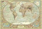 Dünya Haritası Puzzle 2000 Parça