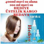 Hediyeli Sarıkız Mavi Su Conditioner Hair Sprey Fön Suyu 400 Ml + 200 Ml Hediyeli