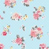 Floral Collection 5030 Çiçek Desenli Yerli Duvar Kağıdı