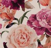 Floral Collection 5054 Gül Desenli Duvar Kağıdı