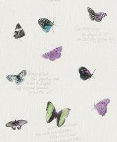 Freundin Iı 436808 Kelebek Desenli Duvar Kağıdı