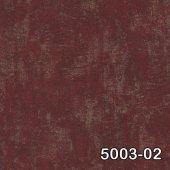 Retro 5003 02 Bordo Eskitme Desenli Duvar Kağıdı