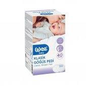 3 Adet Wee Baby Klasik Göğüs Pedi 40 Lı