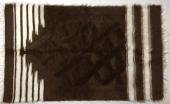 Siirt Tiftikli Mihraplı Kahverengi Seccade Namazlık