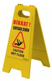 Kaygan Zemin Temizlik Var Levhası Uyarı Tabelası