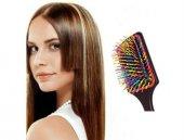 Saç Açıcı Gökkuşağı Saç Fırçası