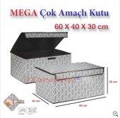 Anka Mega Çok Amaçlı Katlanabilir Kutu Hurç 60x40x30cm